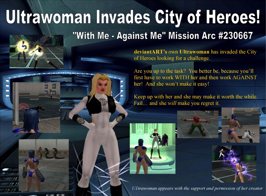 Ultrawoman in CoH by djmatt2