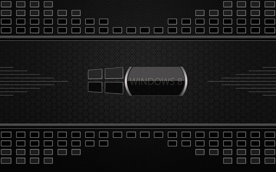 Windows 8 Black by joancosi