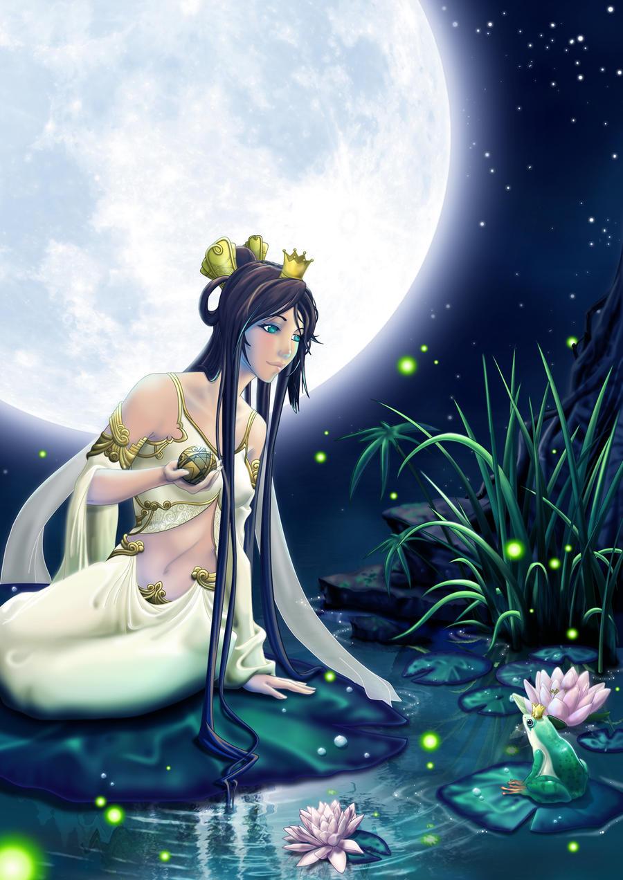 La princesse et la grenouille by xaphanbeneelim on deviantart - La princesse et la grnouille ...
