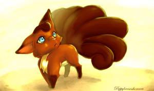 Vulpix by puppylovesesshomaru