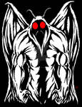 The Mothman of Point Pleasant by Cryptid-Warehouse