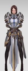 Knight heavy armor by BanjiuEvik