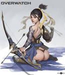 Overwatch - Hanzo fanart