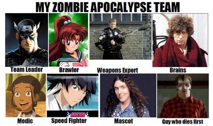 Zombie Team by ElvenRaptor
