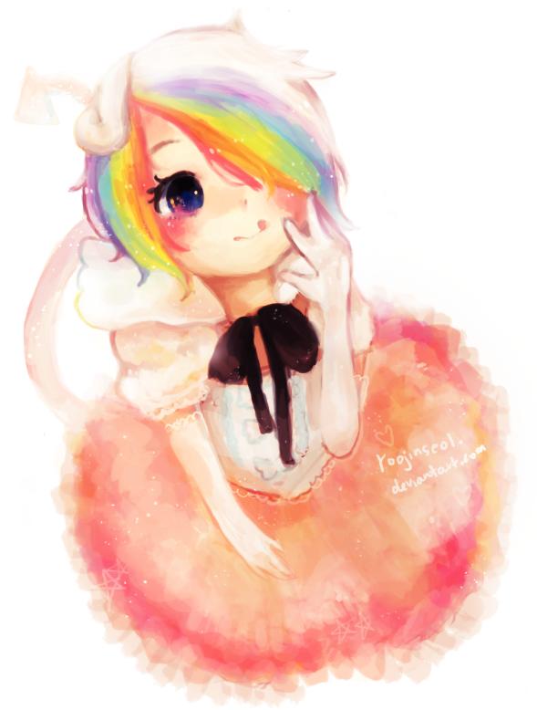 rainbow dash by jubilri