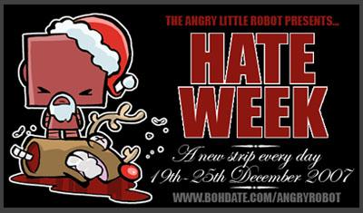 ANGRY LITTLE ROBOT returns. by icanseeyourmonkey