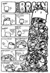Justin's Brain...Bear Auction by icanseeyourmonkey
