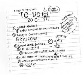 To Do in 2010