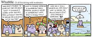 Whubble socialises