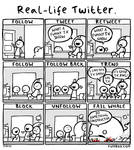 Real life Twitter