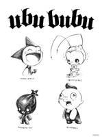 Ubu Bubu sketches by icanseeyourmonkey