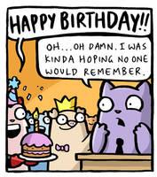 Happy Birthday Whubble by icanseeyourmonkey