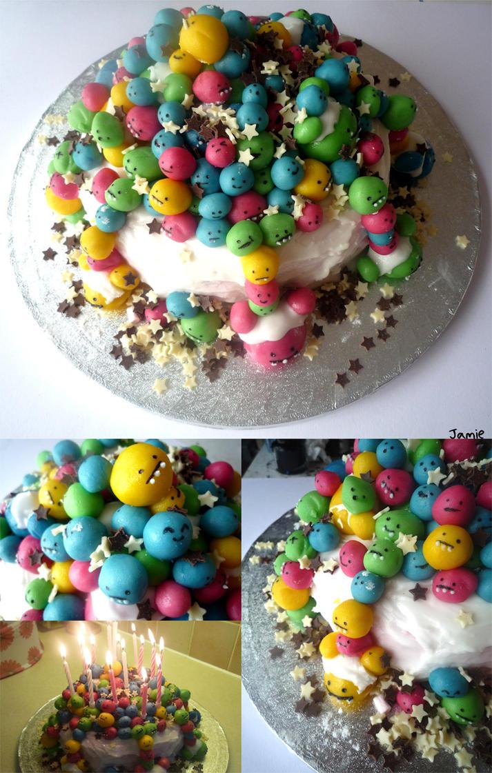 birthday cake by icanseeyourmonkey