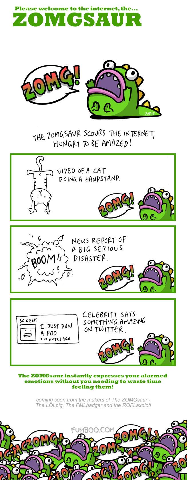 The ZOMGsaur by icanseeyourmonkey