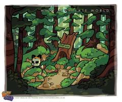 Bunny Vs Monkey scene 3 by icanseeyourmonkey