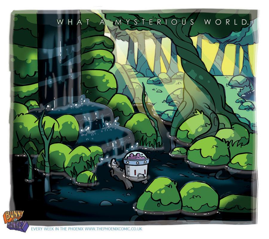 Bunny Vs Monkey art day 7 by icanseeyourmonkey