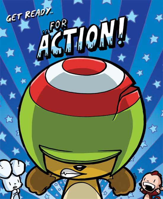 ACTION BEAVER by icanseeyourmonkey