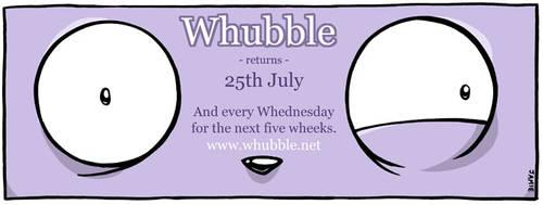 Whubble returns! by icanseeyourmonkey