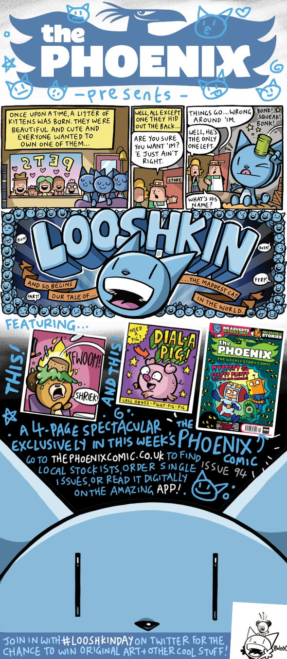 LOOSHKIN in The Phoenix by icanseeyourmonkey