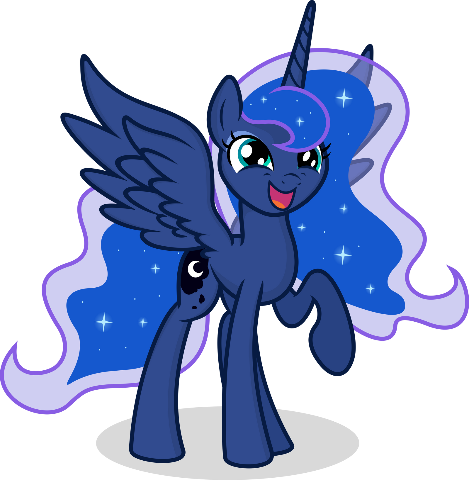 Luna - I'm Adorable! by ThePonyMuseum