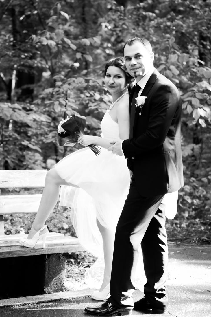 Wedding portrait by DanutzaP