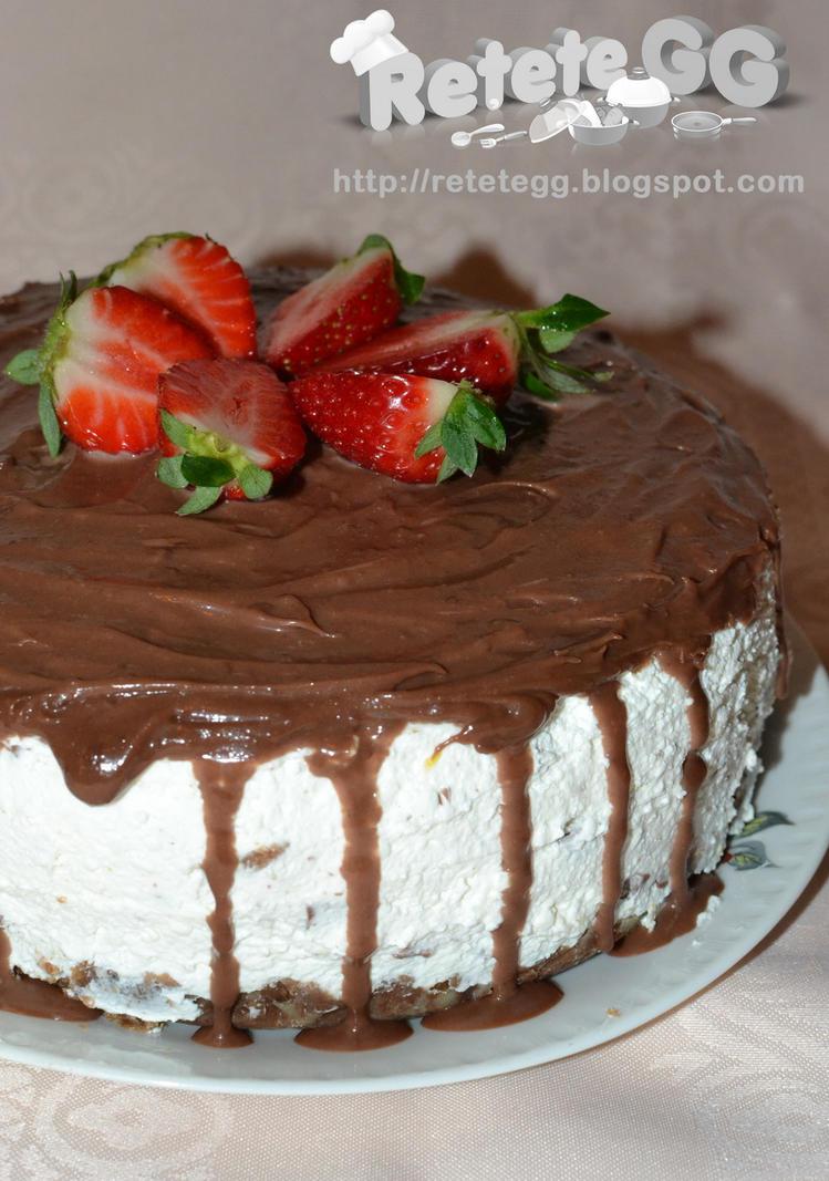 Chocolate Strawberry Cheesecake by DanutzaP