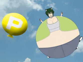 Mavis and the P-Balloon by Prinny129