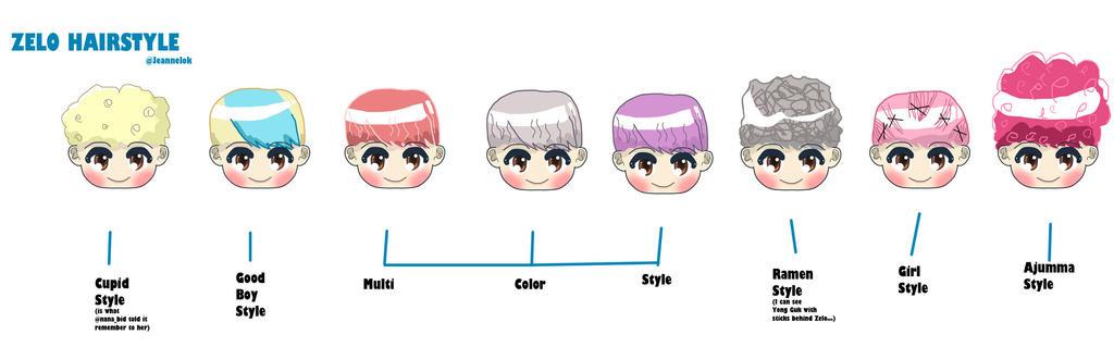 Zelo hair styles by Je...