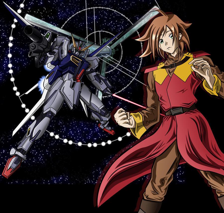 Commission: Strike Gundam MKII by tgcsilver