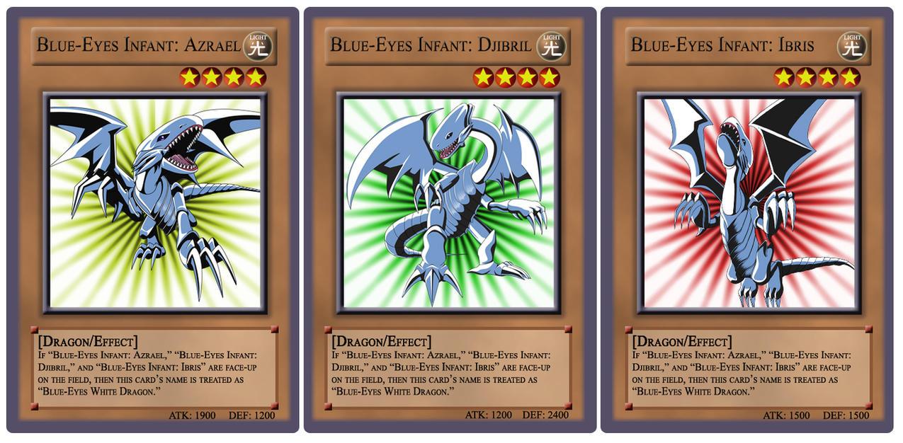 blue eyes infant cards by tgcsilver on deviantart
