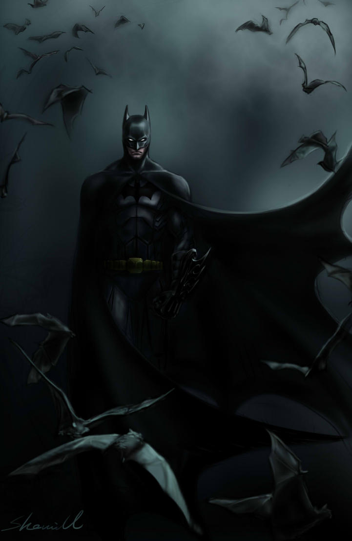 batman by sherrill018