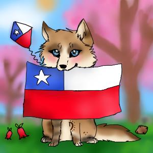 Fiestas Patrias :3 by Skylar-Wolf