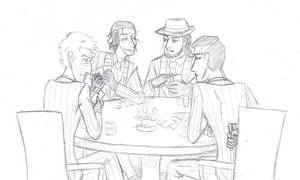 Spies Playing Poker