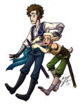 Fantasy AU Jordi and Jeremy