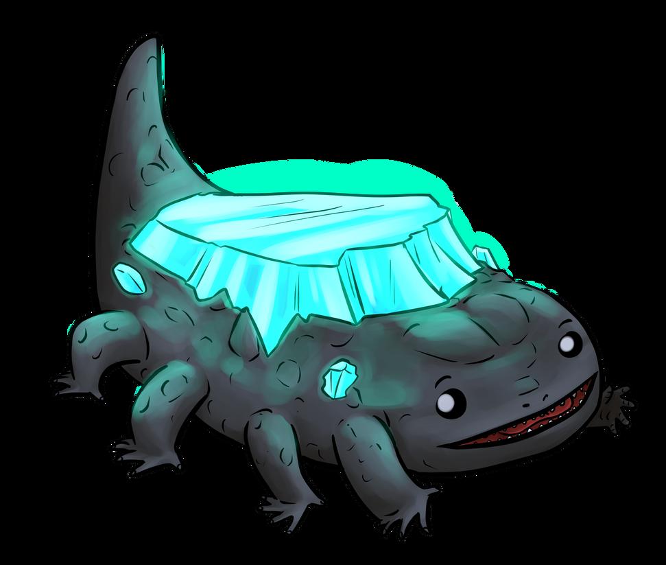 Crystal Lizard by kytri