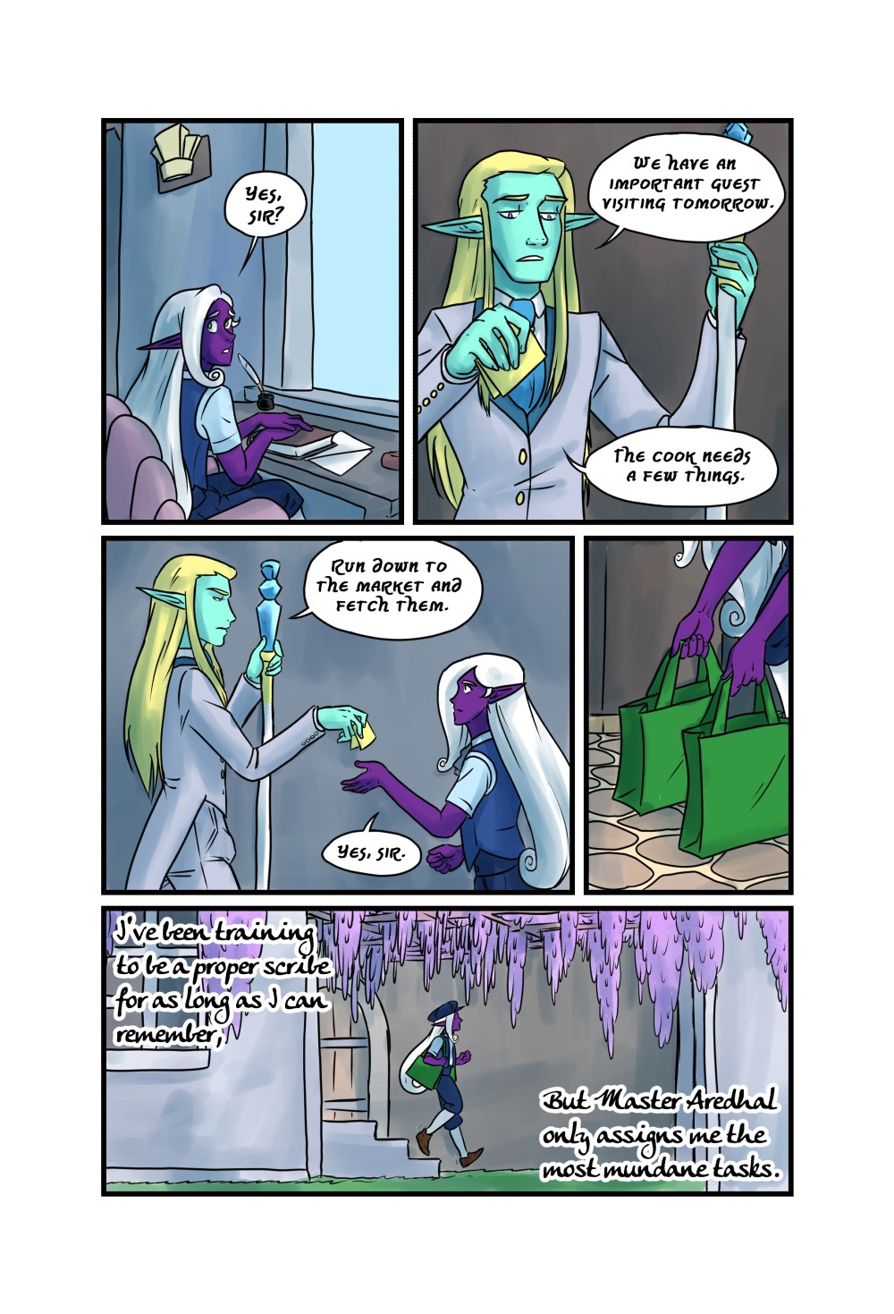 Crypts and Cantrips page 3 by kytri