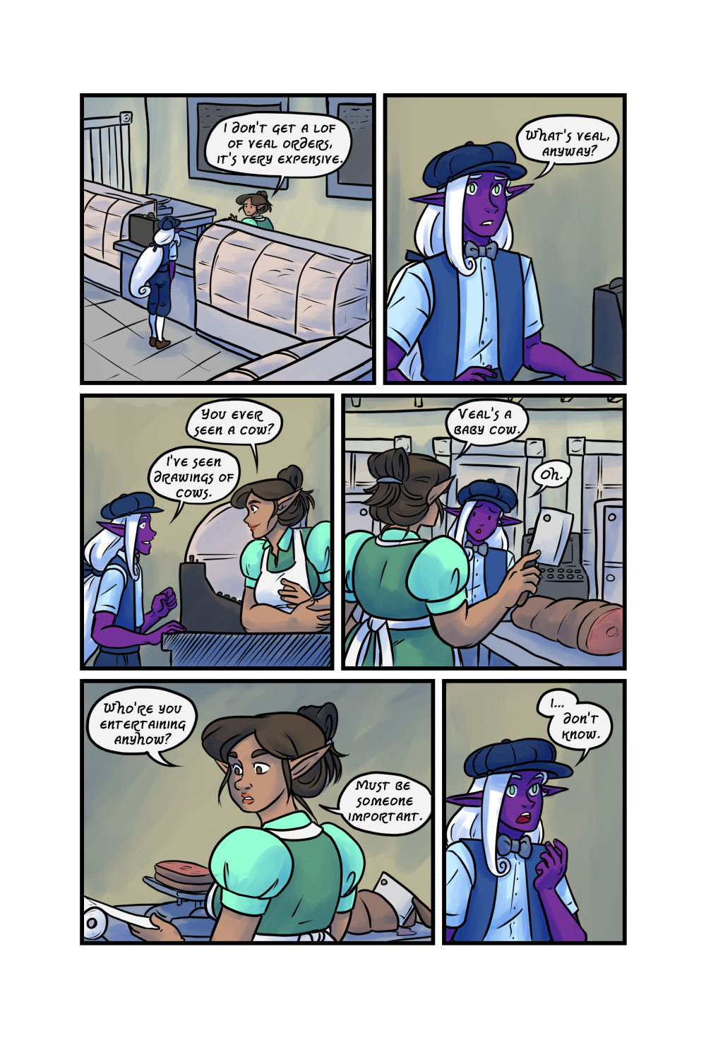 Crypts and Cantrips page 9 by kytri