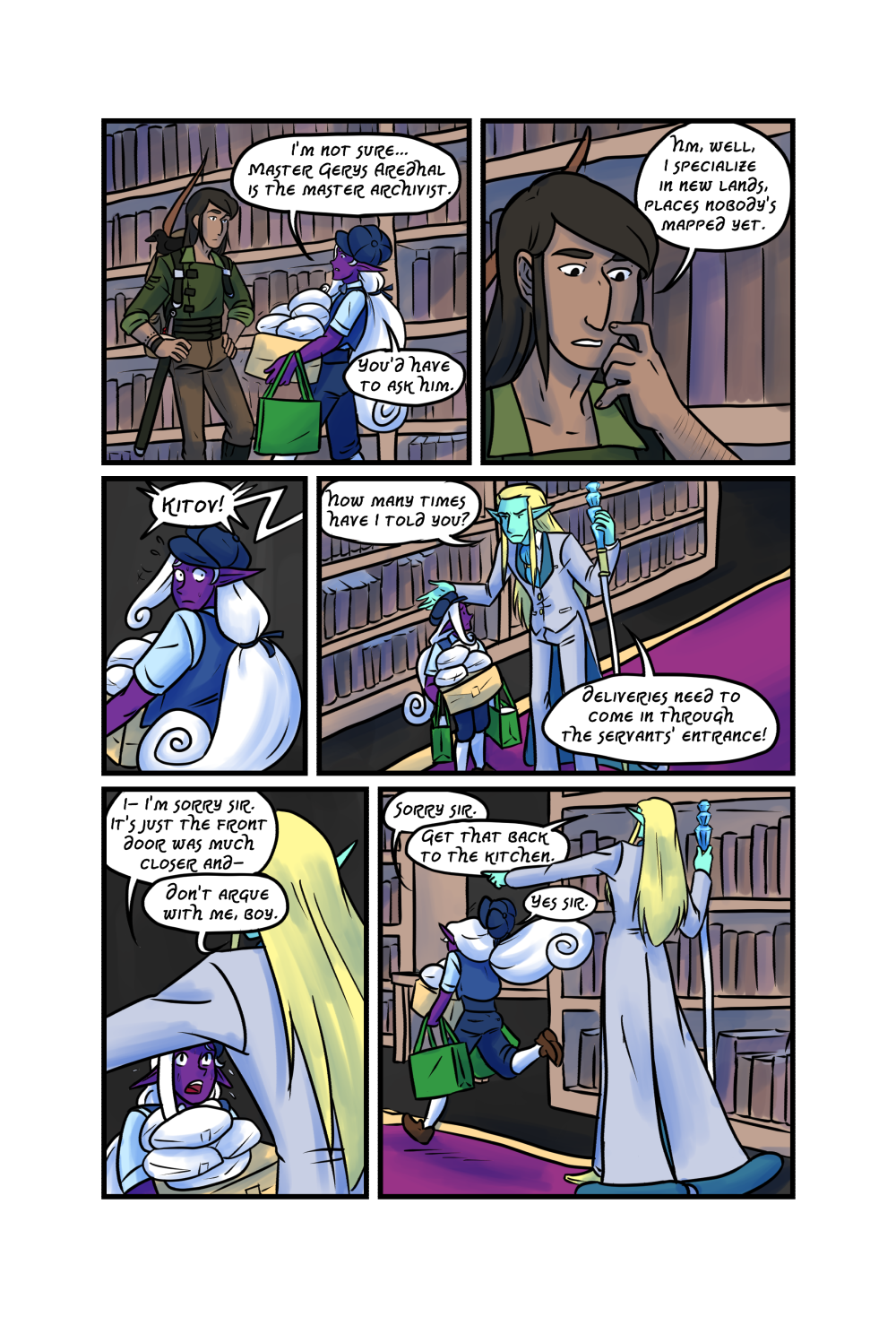 Crypts and Cantrips page 12 by kytri