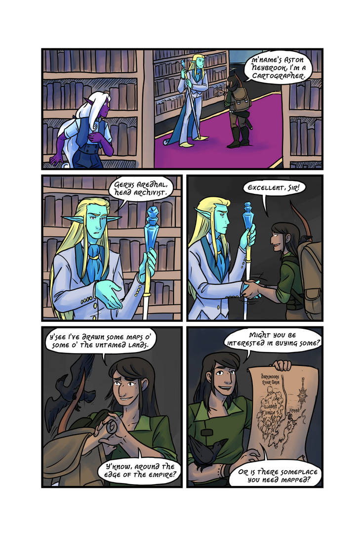 Crypts and Cantrips page 14 by kytri