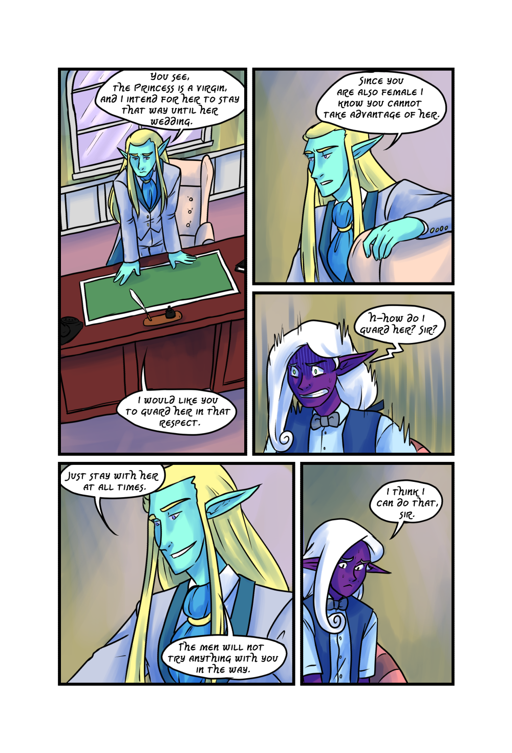 Crypts and Cantrips page 23 by kytri