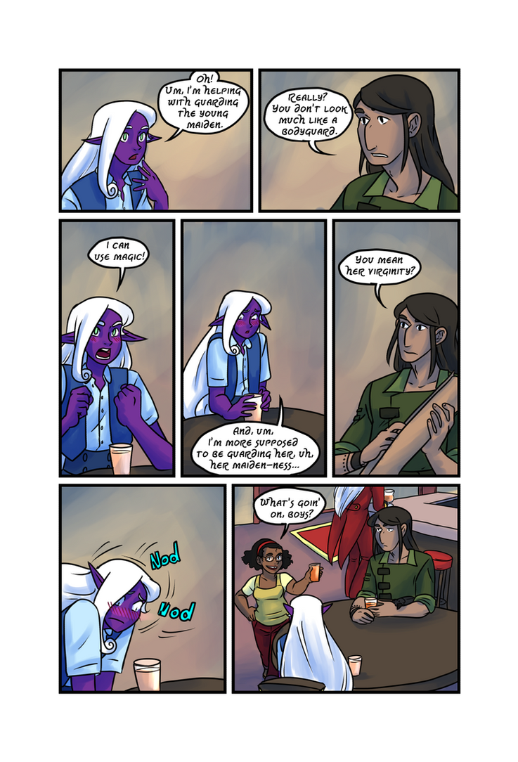 Crypts and Cantrips page 30 by kytri