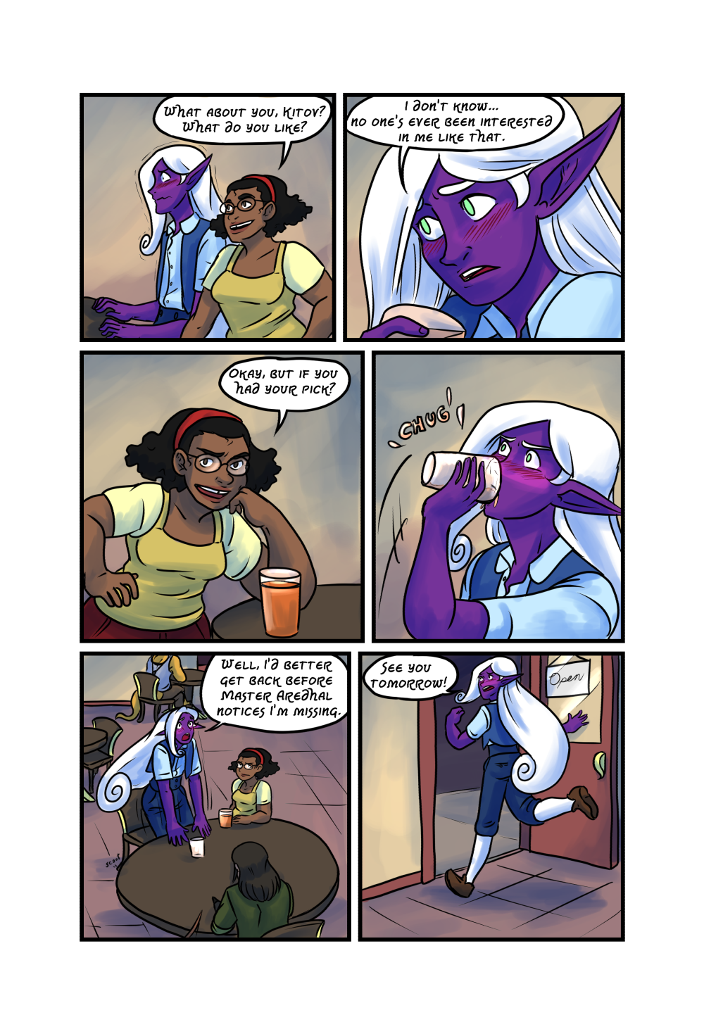 Crypts and Cantrips page 32 by kytri