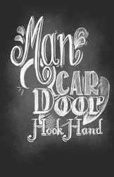 Man Car Door Hook hand