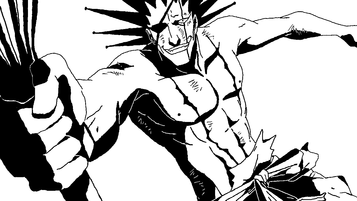 Zaraki Kenpachi 2 Bleach By ClownDeity