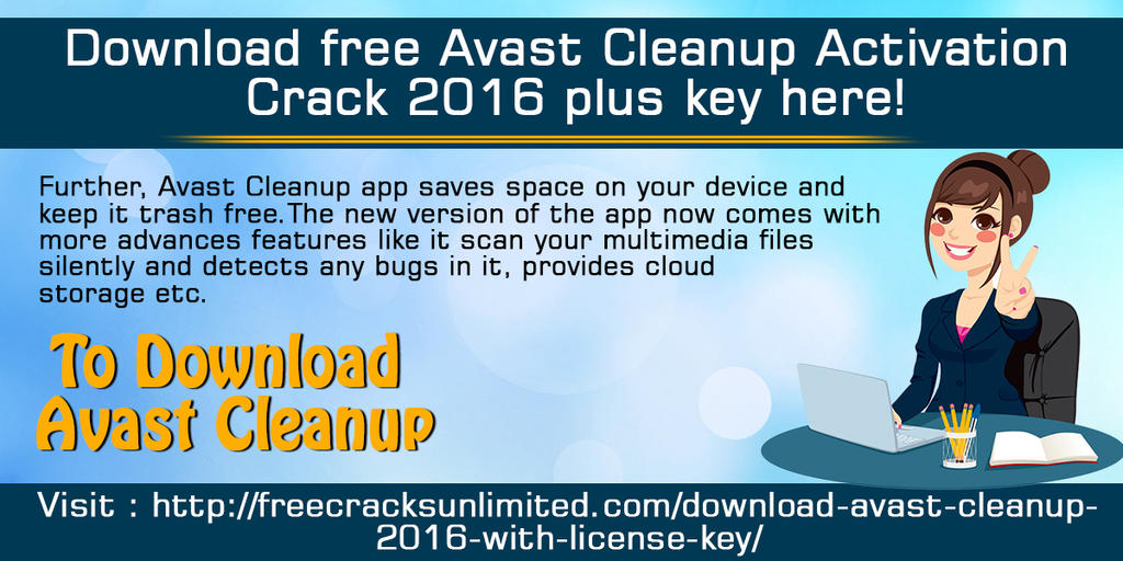 Download Free Avast Cleanup Activation Crack 2016 by ...