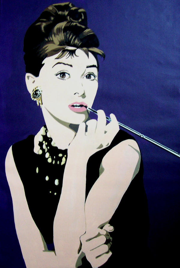 Audrey Hepburn Pop Art by Floodbox on DeviantArt