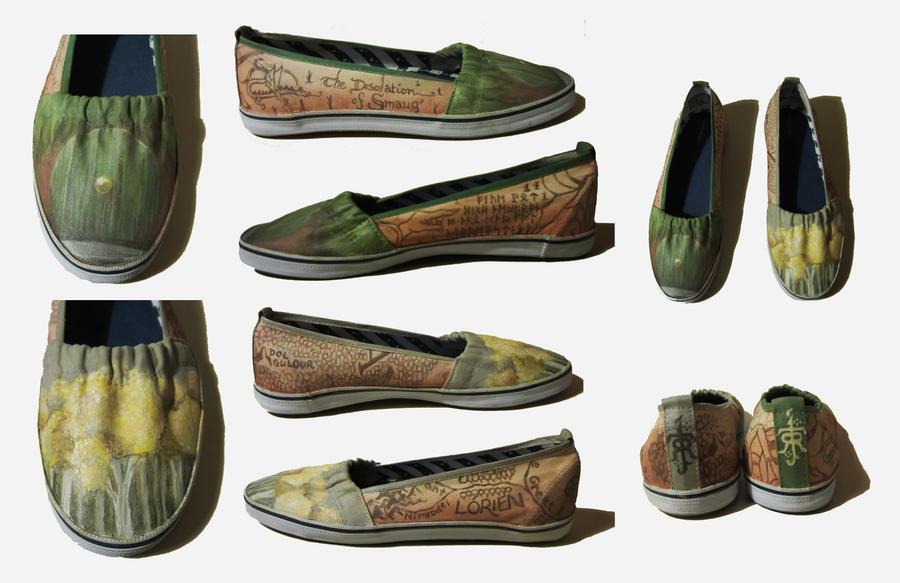 Hobbit Shoes by kudos-praze