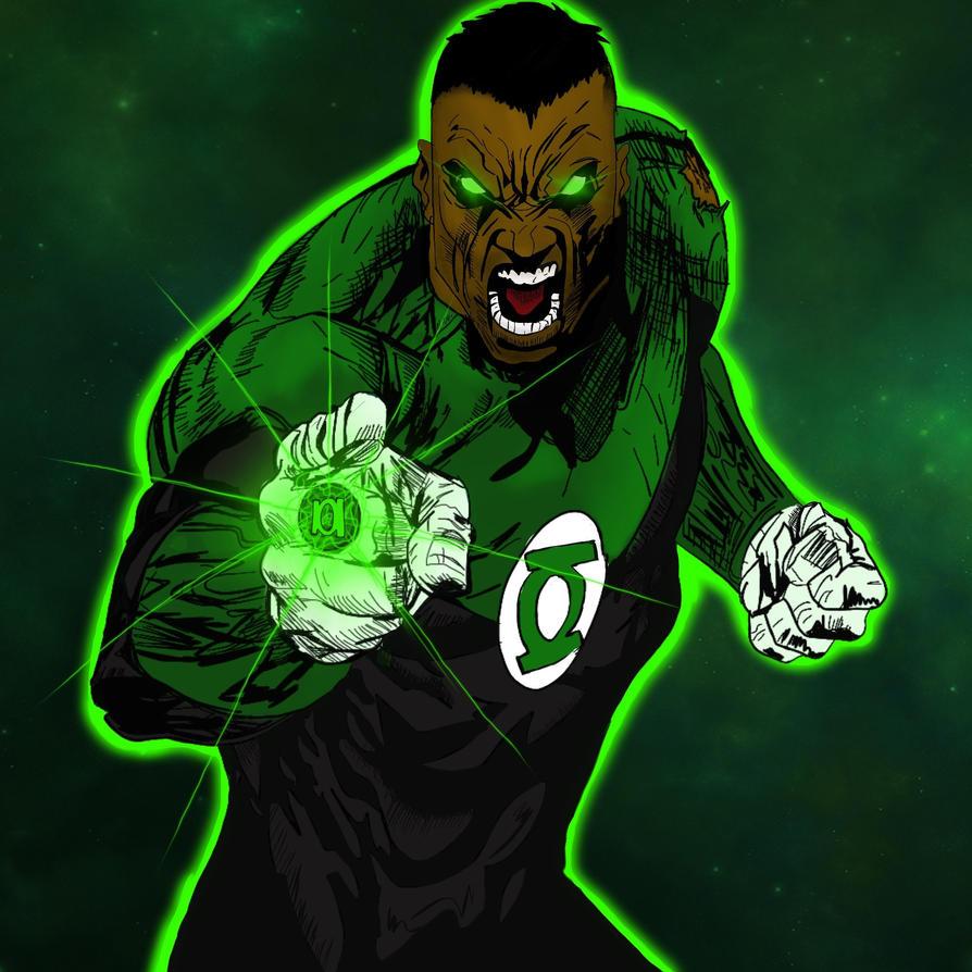 green lantern stewart by sh0gun86 on deviantart