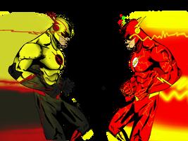 Reverse flash/flash by Sh0gun86