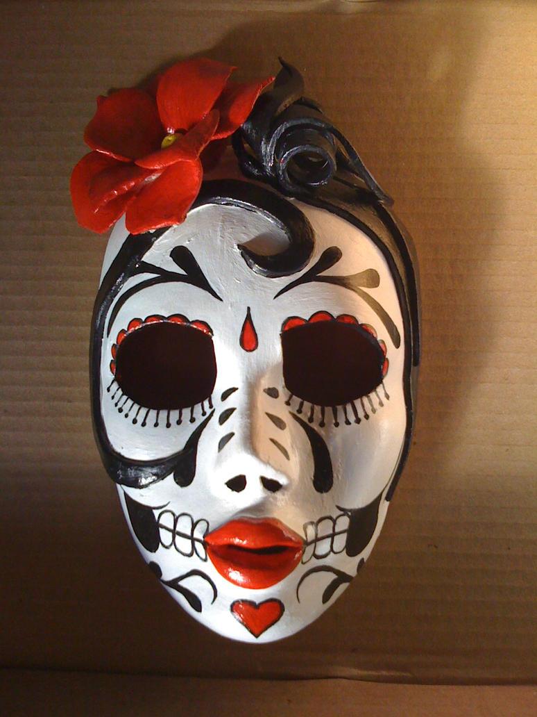 La Catrina- Day of the Dead by MaskArtbyGlynis on DeviantArt